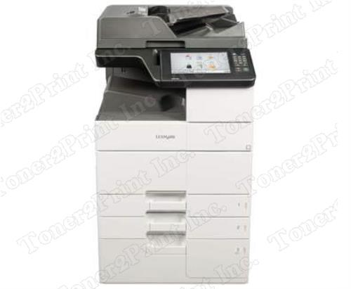 Lexmark Mx912dxe - multifunction - monochrome - laser - color scanning, copying, faxing,