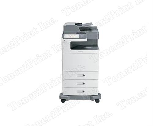 Lexmark X792dte - multifunction - color - laser - function color copying ,color faxing ,